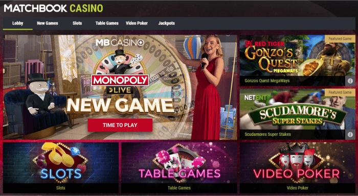 fyrstikkbok kasino