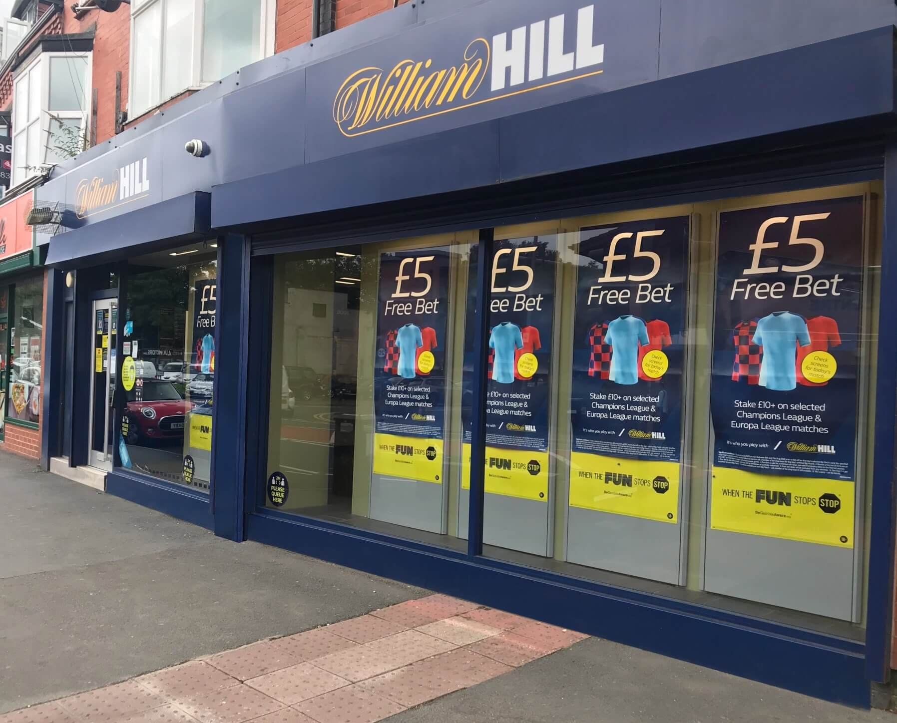 BoyleSports Want To Buy William Hill Shops
