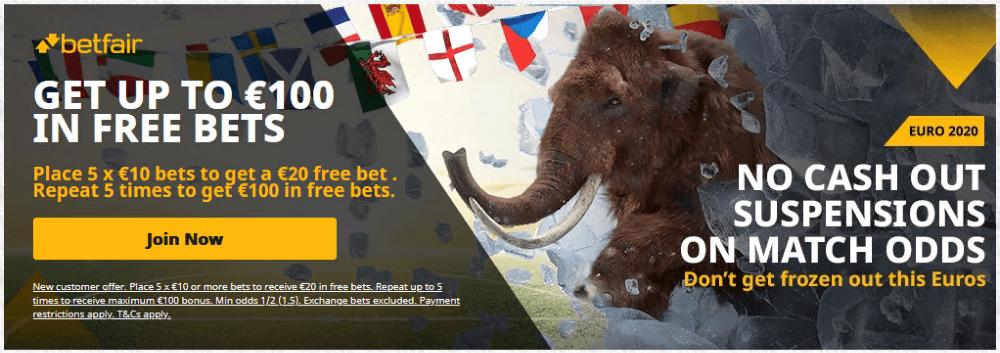 betfair sportsbook welcome offer